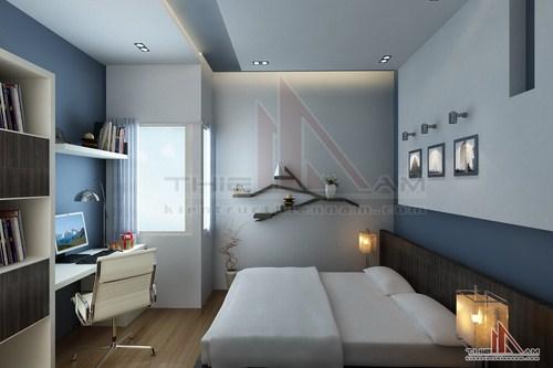 Thiết kế nội thất nhà lô 3 tầng   anh An