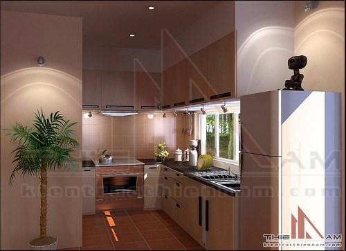 Thiết kế kiến trúc nội thất biệt thự nhà vườn   anh Hùng