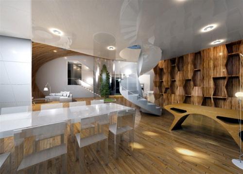 Ngôi nhà hình kén tằm trên đảo Jeju - Archi
