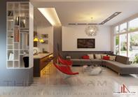 Thiết kế nội thất biệt thự 3 tầng – chị Hương