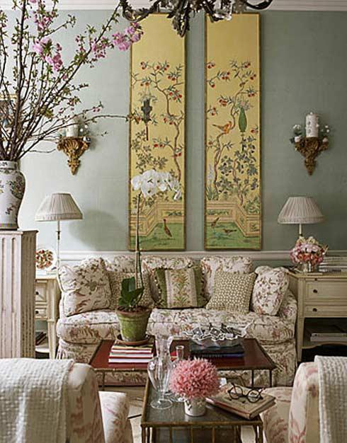 Trang trí tường cho phòng khách thêm đẹp