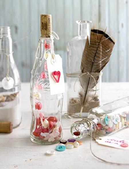 Làm đẹp nhà bằng chai thủy tinh (Phần cuối)