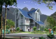 Kiến trúc biệt thự 3 tầng Anh Hậu – Hà Nam