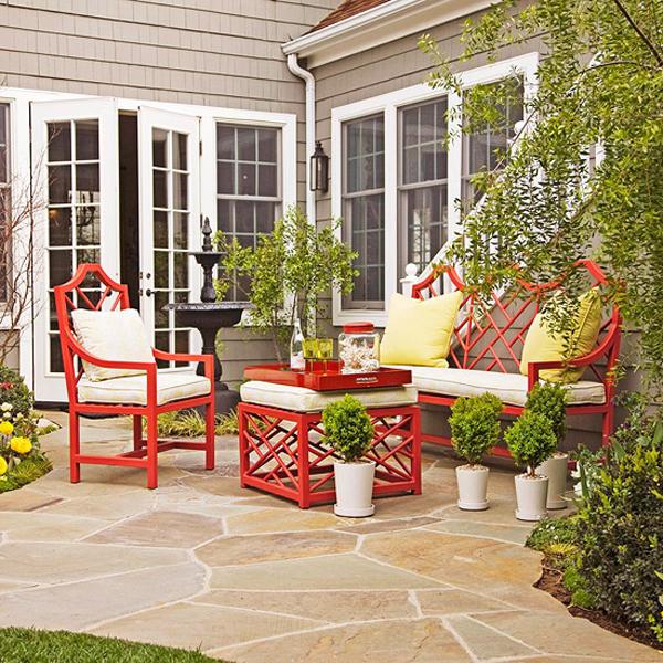 Bí quyết sân vườn thêm phần quyến rũ