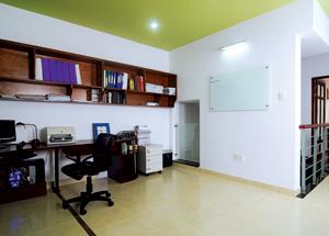 Phòng làm việc là không gian mở