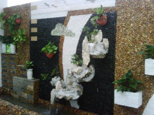 Thổi hồn cho tường bằng tranh đá - Archi