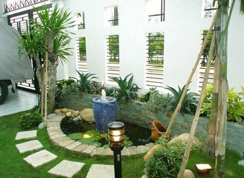 Một số lưu ý trong thiết kế sân vườn