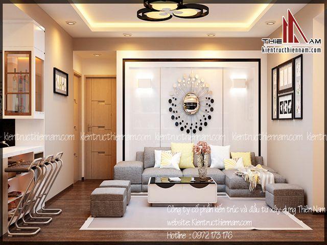 Thiết kế nội thất chung cư Time City – Chị Lan, Hà Nội