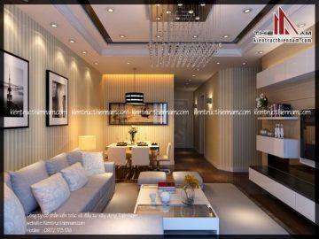 Thiết kế nội thất chung cư khu đô thị Time City – Chị Vân, Hà Nội