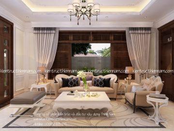 Thiết kế nội thất biệt thự tân cổ điển – anh Hiệp, Bắc Ninh