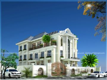 Thiết kế tổ hợp nhà hàng, khách sạn, nhà ở – bác Thoan, Sơn La