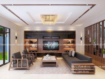 Thiết kế thi công nội thất hiện đại – anh Hào, Nghệ An